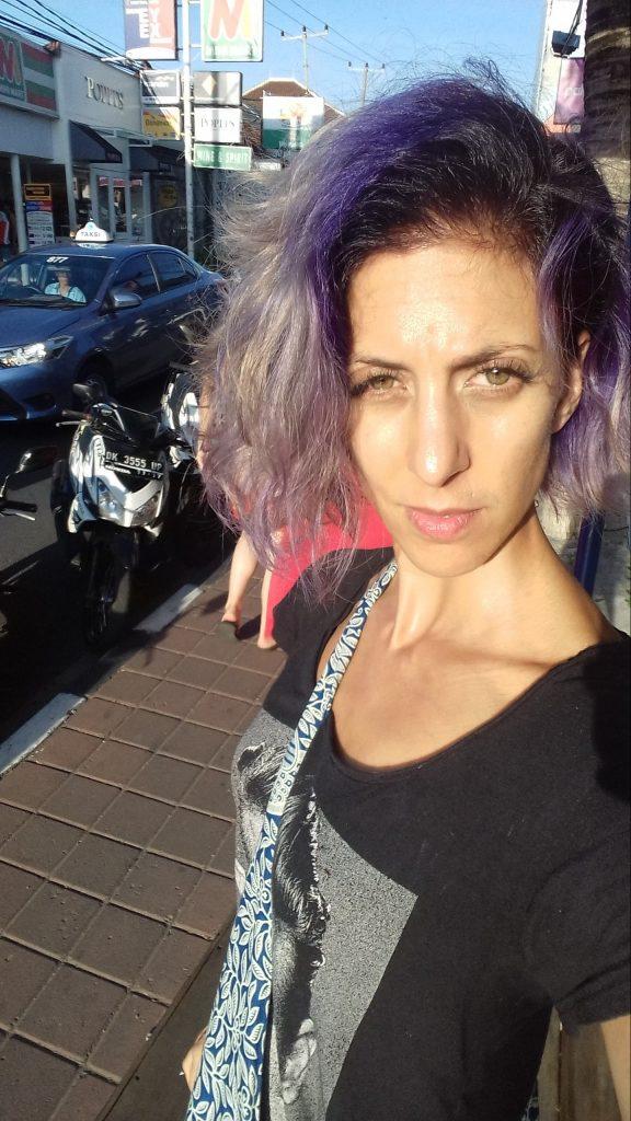 Purple Haired Vegan Babe, 2016
