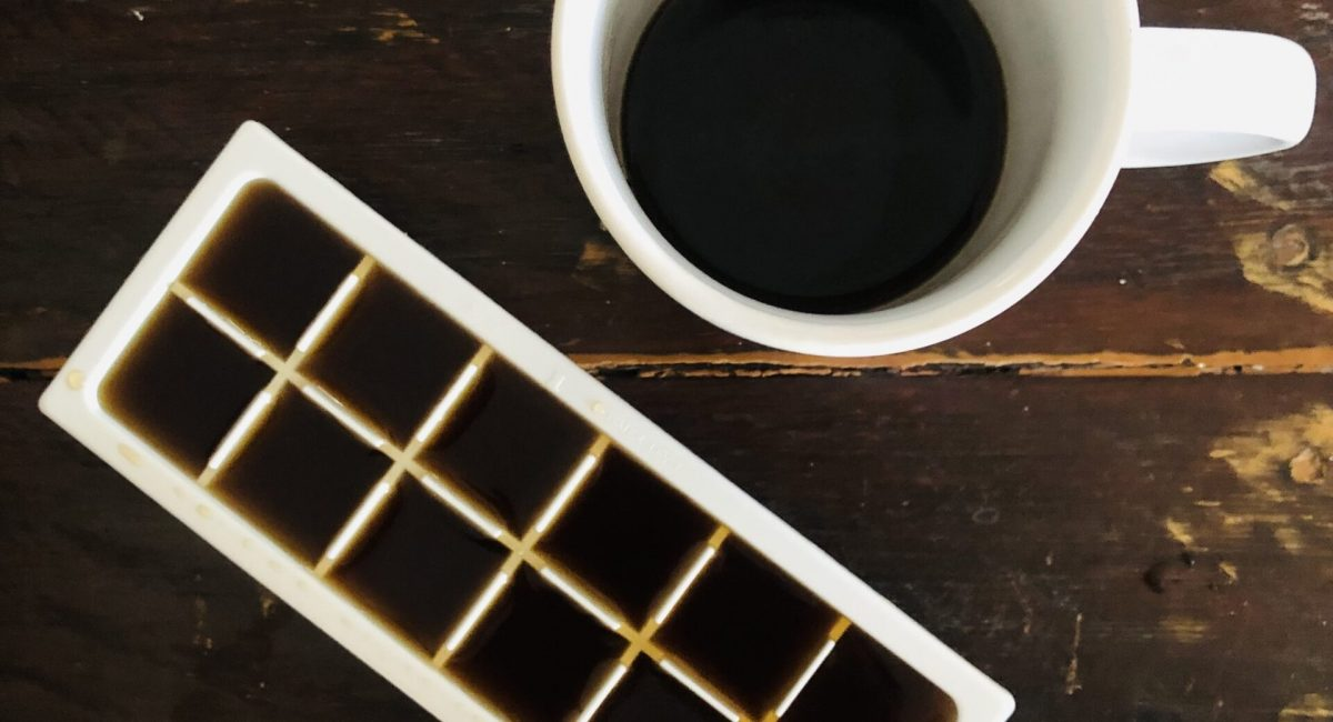Coffee Cubes for dark circles